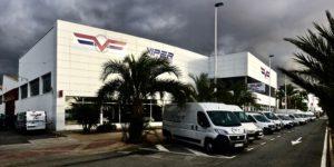 Alquiler de vehículos industriales Elche